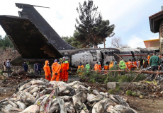 محموله گوشت هواپیمای بوئینگ ۷۰۷ امحا شد