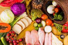 قمیت اقلام خوراکی در یک سال گذشته چه تغییراتی کرده است؟ +جدول ونمودار